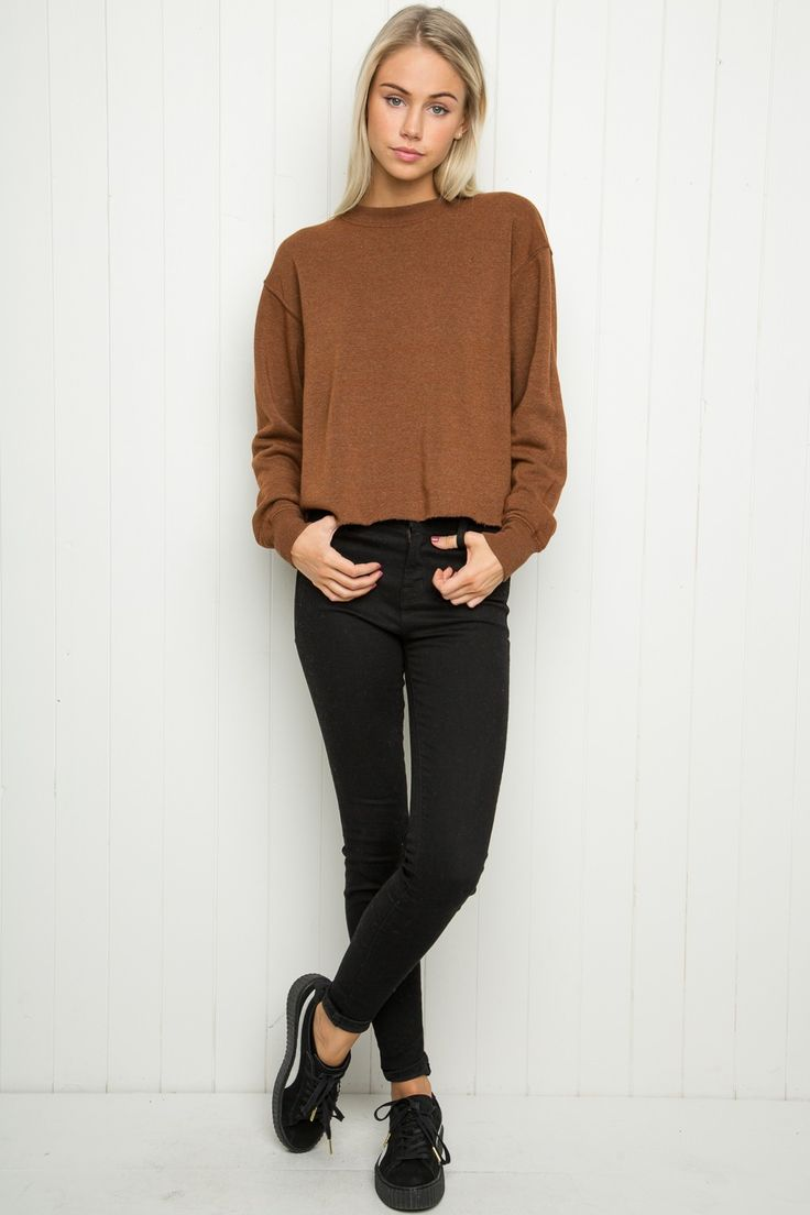 Brandy ♥ Melville | Acacia Sweatshirt - Clothing