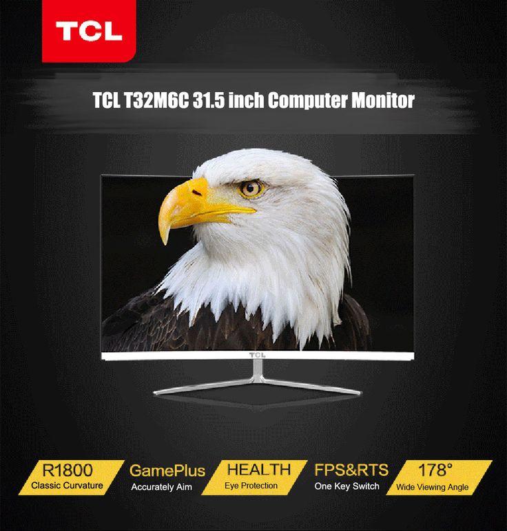 Vente Flash très sympa pour l'écran incurvé, TCL T32M6C 31.5 pouces ;)