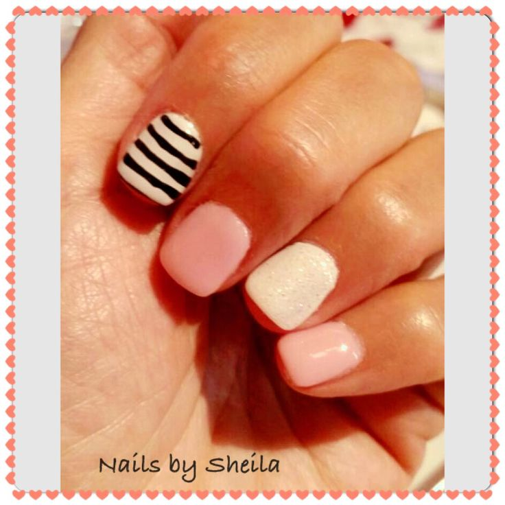 Nails#soft#pink#