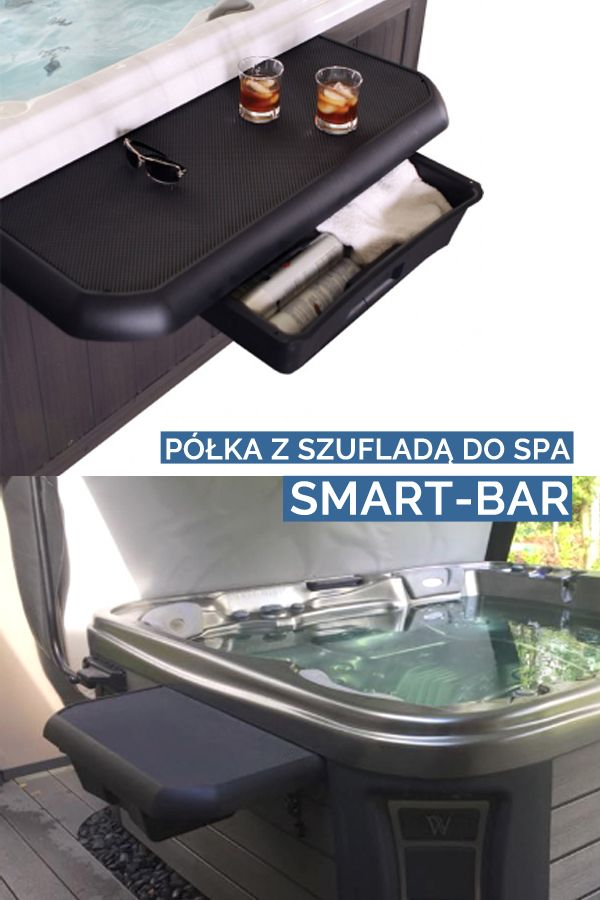 Smart Bar Do Wanny Spa Jacuzzi Stabilny Z Szuflada Smart Bar Jacuzzi Spa