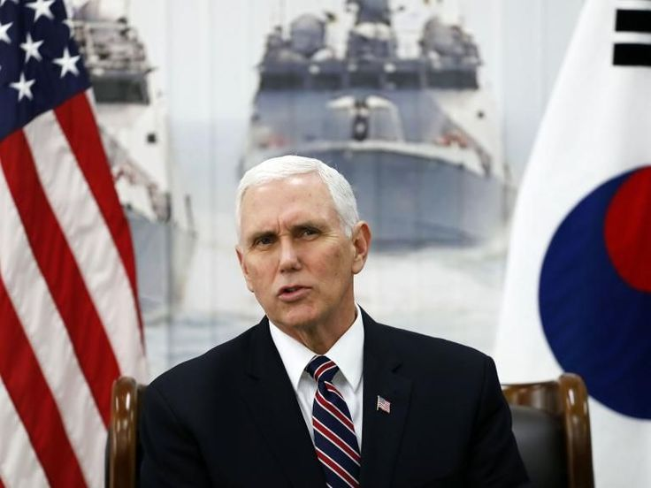 US and South Korea united over need to 'isolate North Korea economically and diplomatically', says Mike Pence