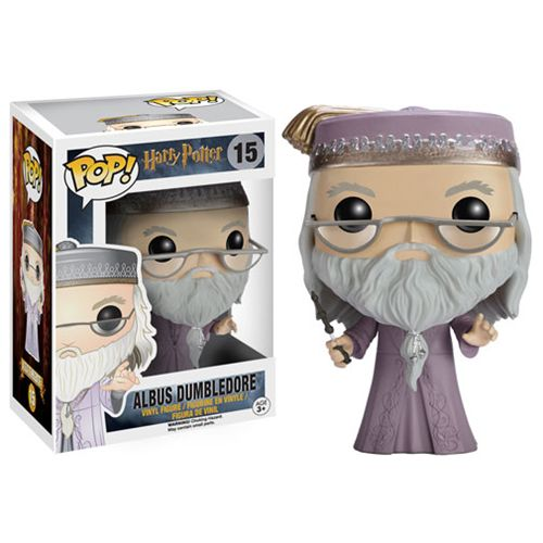 Harry Potter Dumbledore with Wand Pop! Vinyl Figure - Funko - Harry Potter - Pop! Vinyl Figures at Entertainment Earth