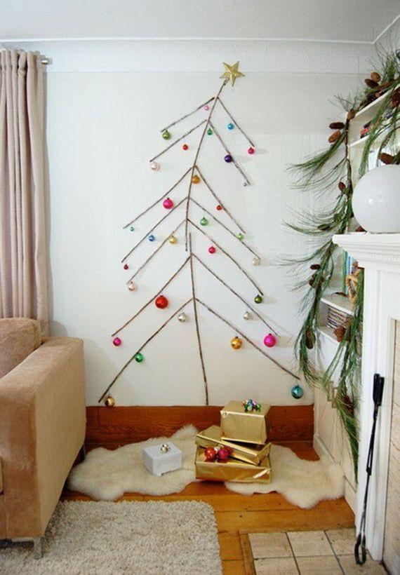 60 Wall Christmas Tree – Alternative Christmas Tree Ideas www.homeology.co.za