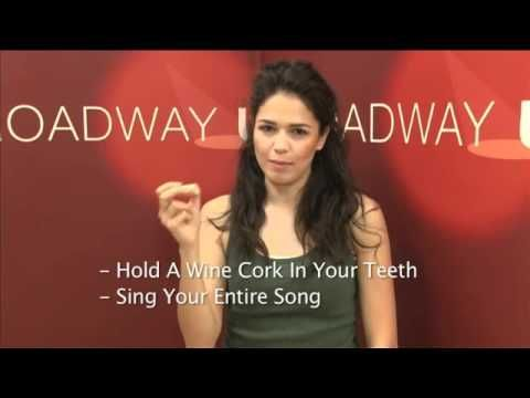 Arielle Jacobs (In the Heights) tells you how to improve your diction with a simple trick  www.broadwayuonline.com