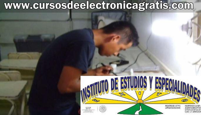 CURSOS DE ELECTRÓNICA GRATIS: ALUMNOS HACIENDO REPARACIONES