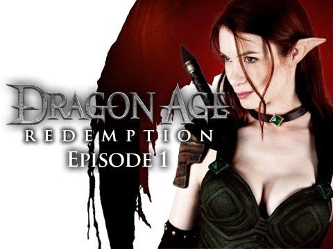 Dragon Age: Redemption is a six-part web series set in the world of the Bioware RPG Dragon Age. The series tells the story of Tallis, an Elvish assassin, who gets a last chance at redemption when she's sent to capture a rogue Qunari mage intent on wreaking havoc in the world. Starring Felicia Day