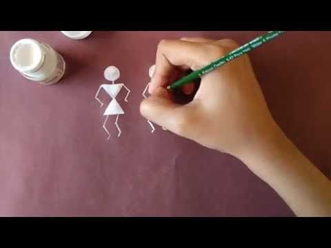 Warli Painting : Getting Started - YouTube