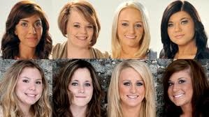 """All of these girls from Teen Mom and Teen Mom 2 are from poor families, and when they """"accidently"""" got pregnant they knew that they could not afford to raise a child on the money, that they dont have. i would rather get a job, then show the world how depressing my life is because i became a teen mom"""