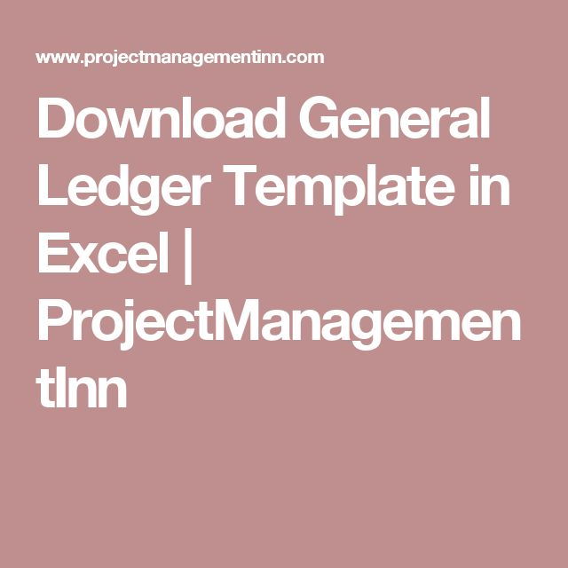 The 25+ best General ledger ideas on Pinterest Financial - free general ledger template