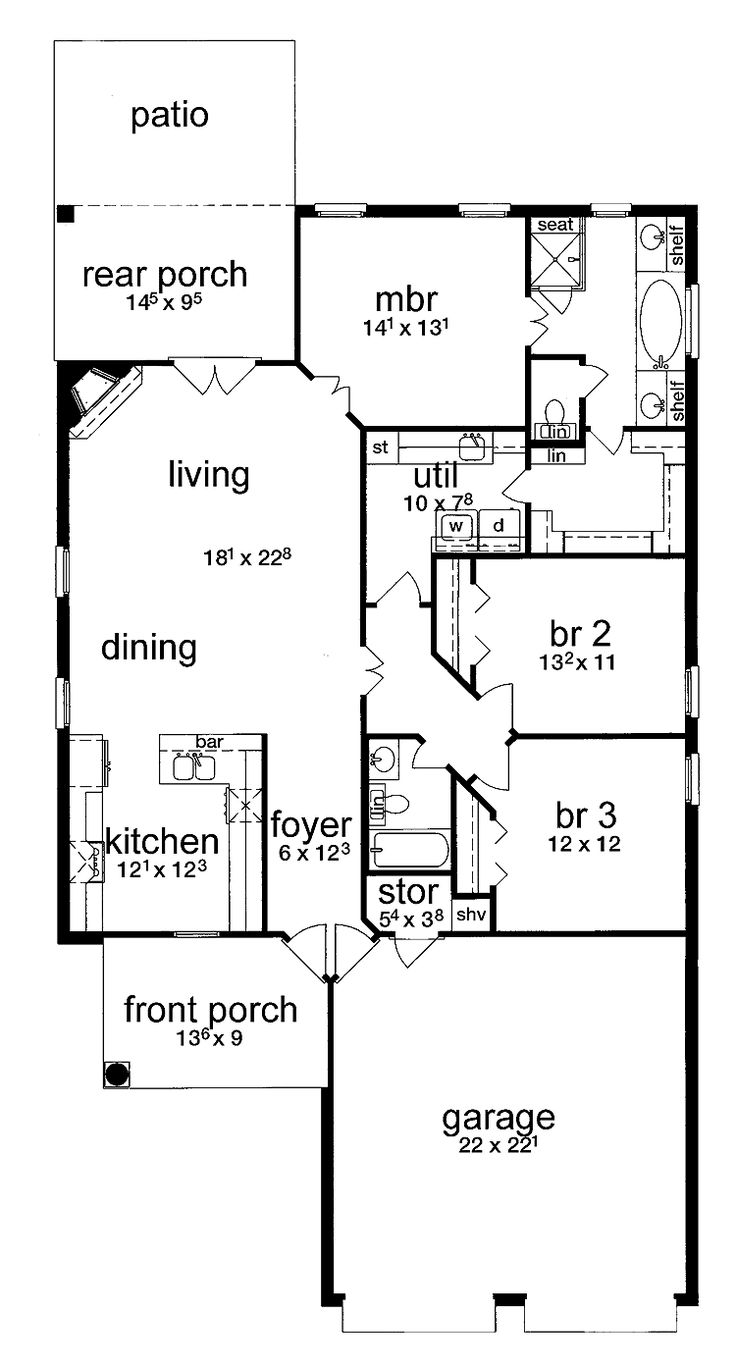 66 best house plans images on pinterest small house plans 3 samples of easy build simple house plans simple house plans simple house plans for small families
