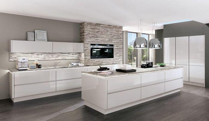 Kitchen Interior Bild Von Tamara In 2020 Kuche Hochglanz Nobilia Kuchen Kuchen Design