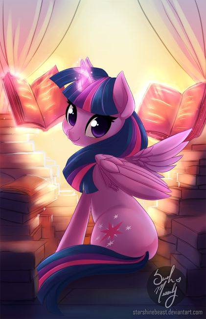 Cute Twilight Sparkle Art