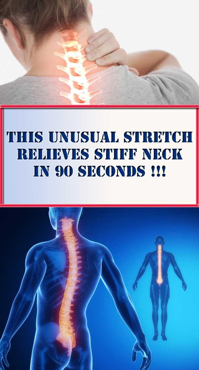 Neck Pain Treatment: This Unusual Stretch, Relieves Stiff Neck in 90 Seconds!