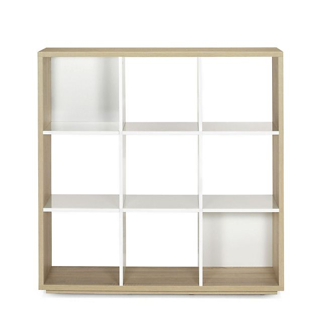 Checker Bibliothèque 9 cases Design scandinave