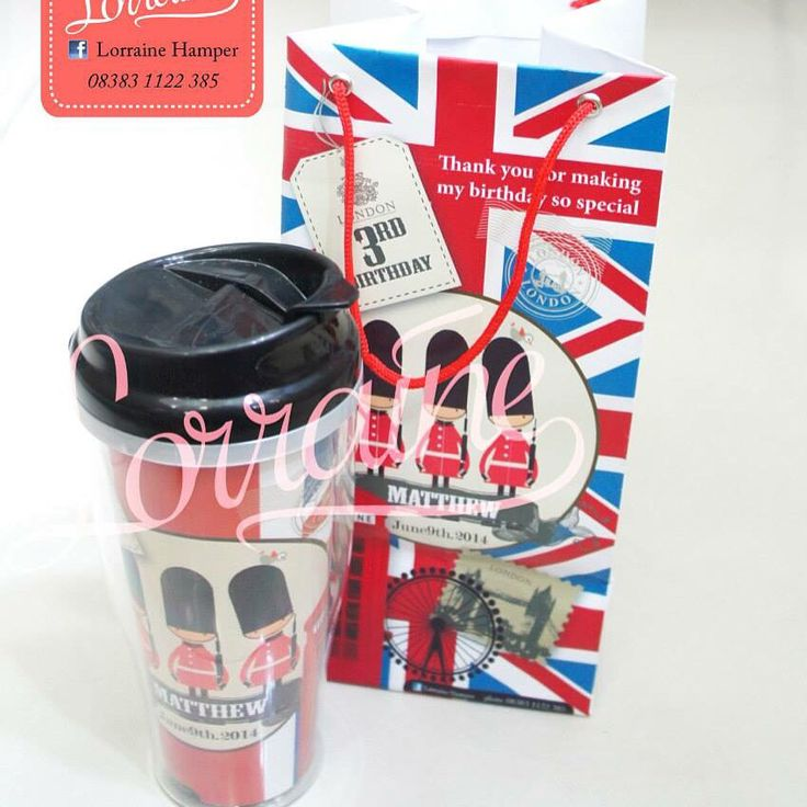 London birthday souvenir