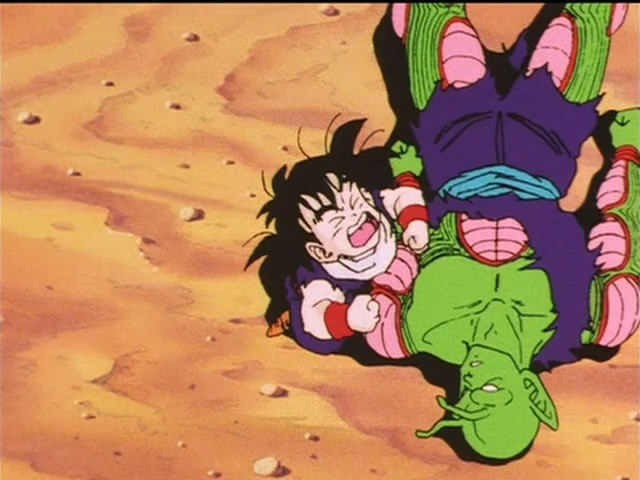 Gohan and Piccolo. Nooo!