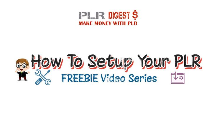 How To Setup Your PLR and Resell Rights Products - http://plrdigest.com/how-to-setup-your-plr-and-resell-rights-products/