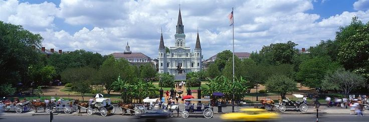St. Louis Cathedral, Jackson Square in New Orleans