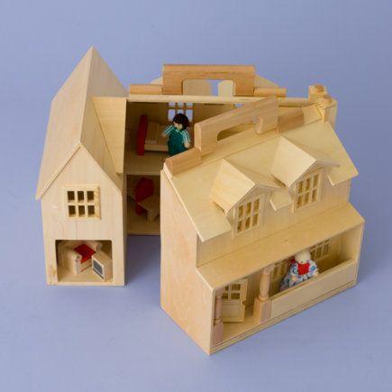 Los Ni 241 Os Toy Casa De Mu 241 Ecas Port 225 Til De Madera Casa De