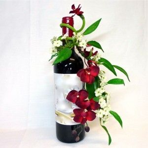 ST EMILION Composición, arreglo floral artificial.(13 e)