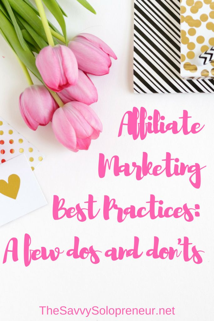 This is the last post in our series on affiliate marketing. We're covering affiliate marketing best practices: a few dos & don'ts to maximise your profits.