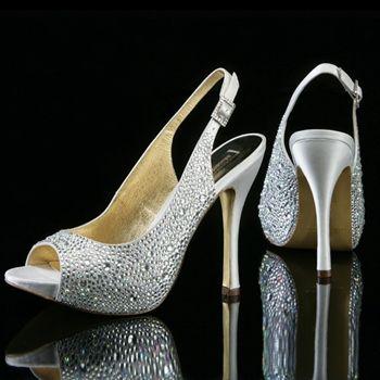 Benjamin Adams Vienna Silver Evening Shoes