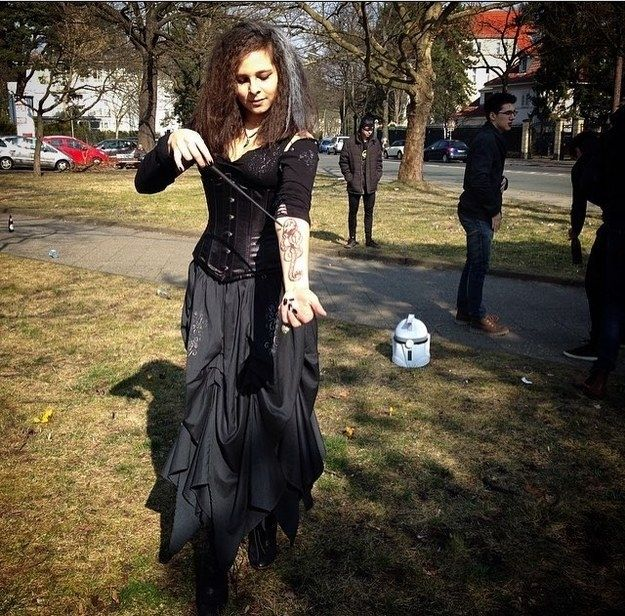 bellatrix lestrange from the harry potter series - Halloween Costumes Without Dressing Up