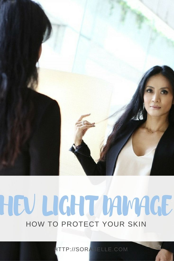 HEV light, which is more familiarly called blue light, is able to penetrate your skin more deeply than UV rays, to the point that it actually hits the usually well-protected layer where our collagen and elastin – the proteins that keep skin firm and elastic – reside. United with the damage it causes to the DNA in your skin cells, HEV light can dramatically accelerate the aging process. Click through to find out how to protect your skin from HEV light damage.