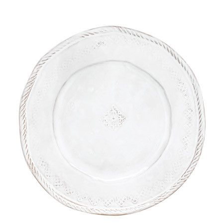 VIETRI: Bellezza White Dinner Plate (Set of 4)