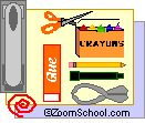Back-To-School Booklet to print out, students write about themselves, their favorite things, their family, etc. - fromEnchanted Learning Software