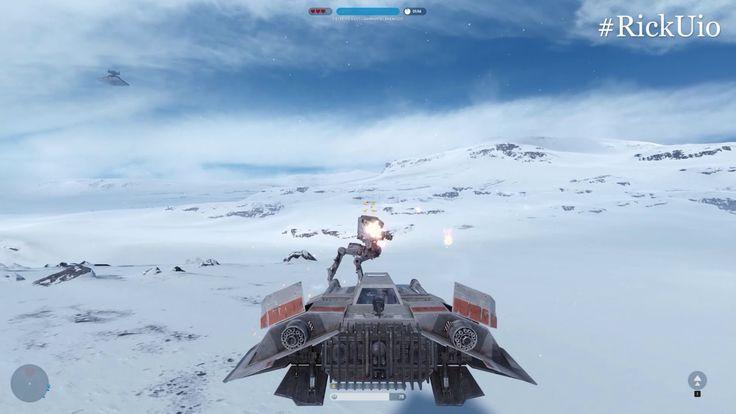 Star Wars Battlefront PC Gameplay #2   Darth Vader está un poco loco