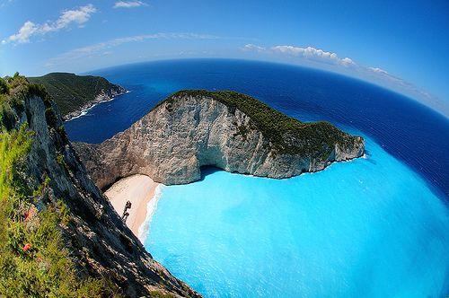 Navagio, Shipwreck Bay, Zakintos #travel #greece