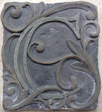 Plaque Stepping Stone Plastic Mold Concrete Mold Cement