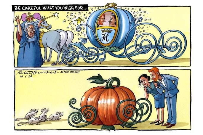 Peter Brookes On Twitter Harry And Meghan Prince Harry And Megan Cartoon