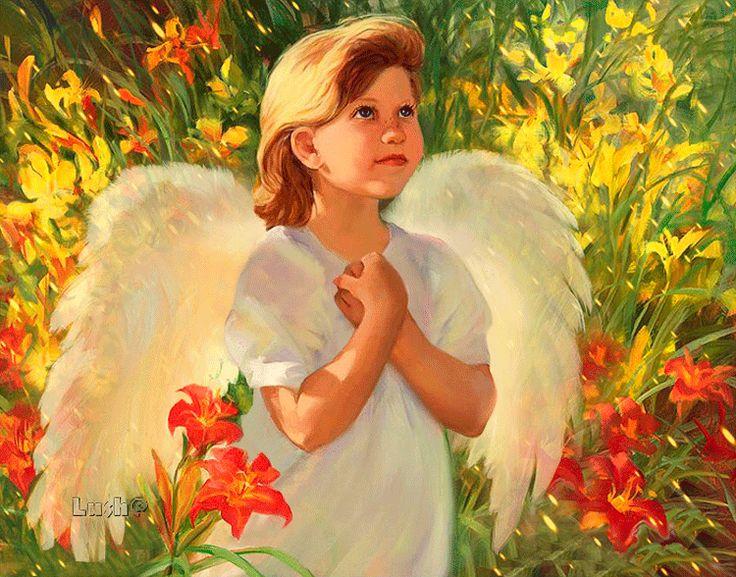 Красивые картинки с ангелами анимация, ночи картинки мужчине