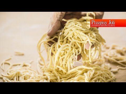 DOMOWY MAKARON - Podstawy Gotowania - PrzepisyJoli.com - YouTube