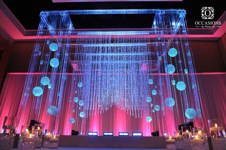 Indian Wedding Mandaps | Event Decorators : Occasions By Shangri-la www.amouraffairs.in wedding arch, indian wedding mandap, natural mandap #indianwedding,