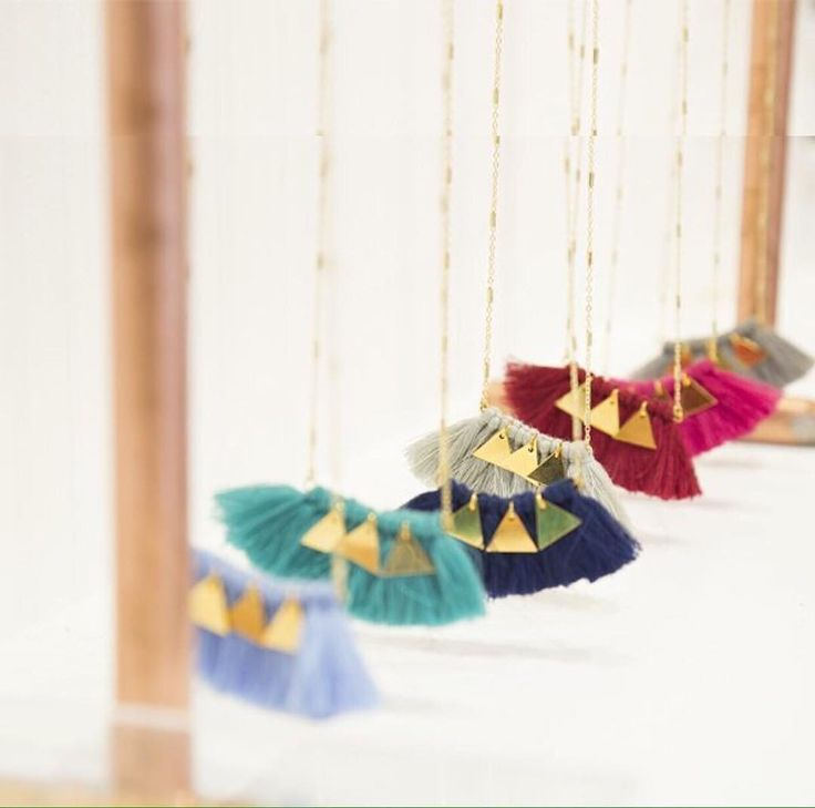 Play with the colors! 💕 #jewelry #unique #greekdesigner #necklace #mylifelikes #lovingit #style #fashion #goldelements