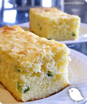 Jasmine Cuisine: Pain de maïs jalapeno-cheddar
