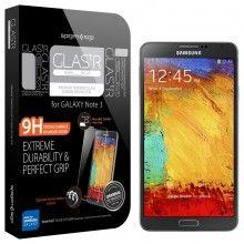 Protector Pantalla Samsung Galaxy Note 3 Spigen SGP Oleophobic Coated Tempered Glass Glas TR Slim $ 107.600,00