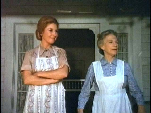 Michael Learned & Ellen Corby
