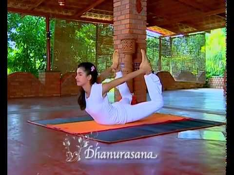 Bow Pose | Dhanurasana for strengthening the back and ...