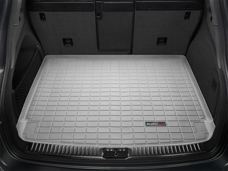 WeatherTech 2010-2016 Mitsubishi Lancer ES GT GTS Ralliart SE SEL Cargo Liners Mats - Grey (Sportback Only)