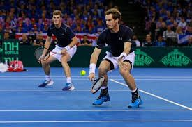 Jamie & Andy Murray win doubles, Davis cup, well done guys!