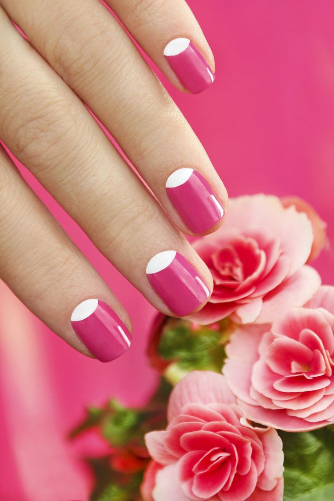 awesome Модный маникюр на короткие ногти (50 фото) — Новинки дизайна 2016 Читай больше http://avrorra.com/modnyj-manikjur-na-korotkie-nogti-foto/