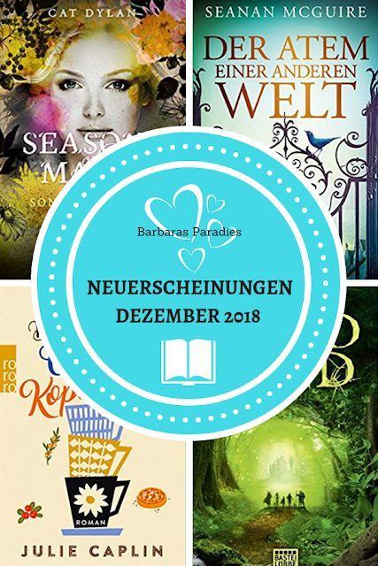 Neuerscheinungen im Dezember 2018 #3 Entdeckt neues Lesefutter auf meinem Blog! …