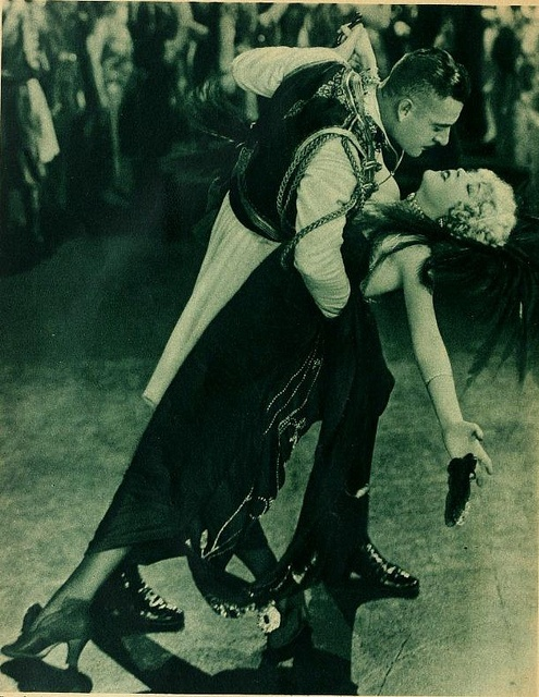 John Gilbert and Mae Murray in the silent film 'The Merry Widow' 1925 by CharmaineZoe, via Flickr