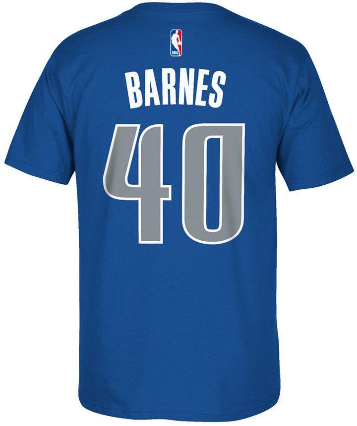 adidas Men's Harrison Barnes Dallas Mavericks Player T-Shirt