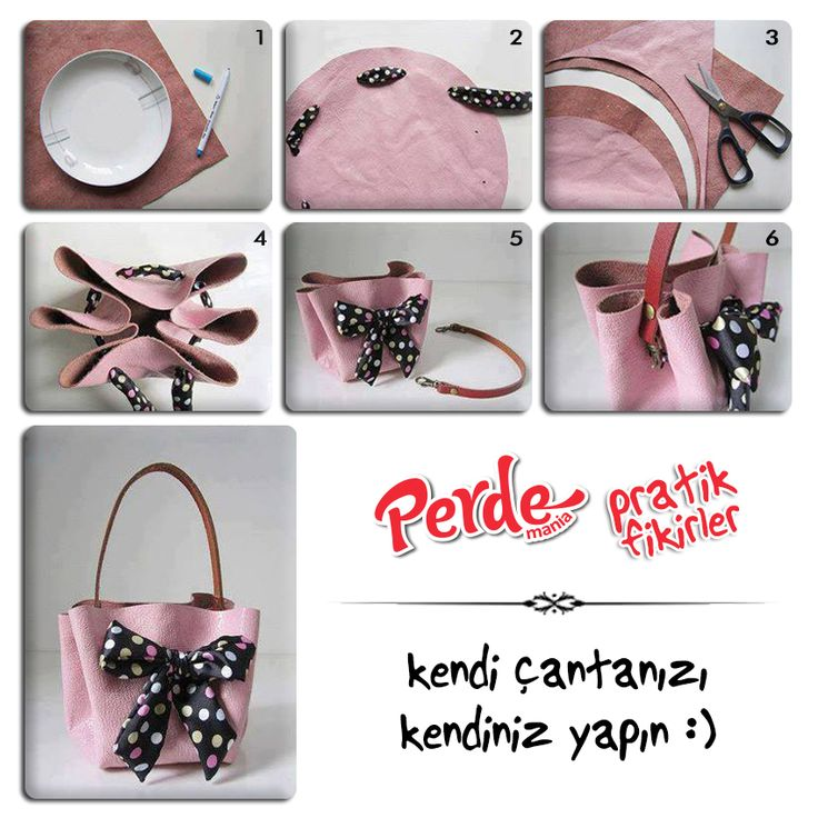 Kendi çantanızı kendiniz yapın :)  www.perdemania.com.tr  #çanta #makas #keçe #kurdele #sendeyap #pratik #fikirler #perde #mania