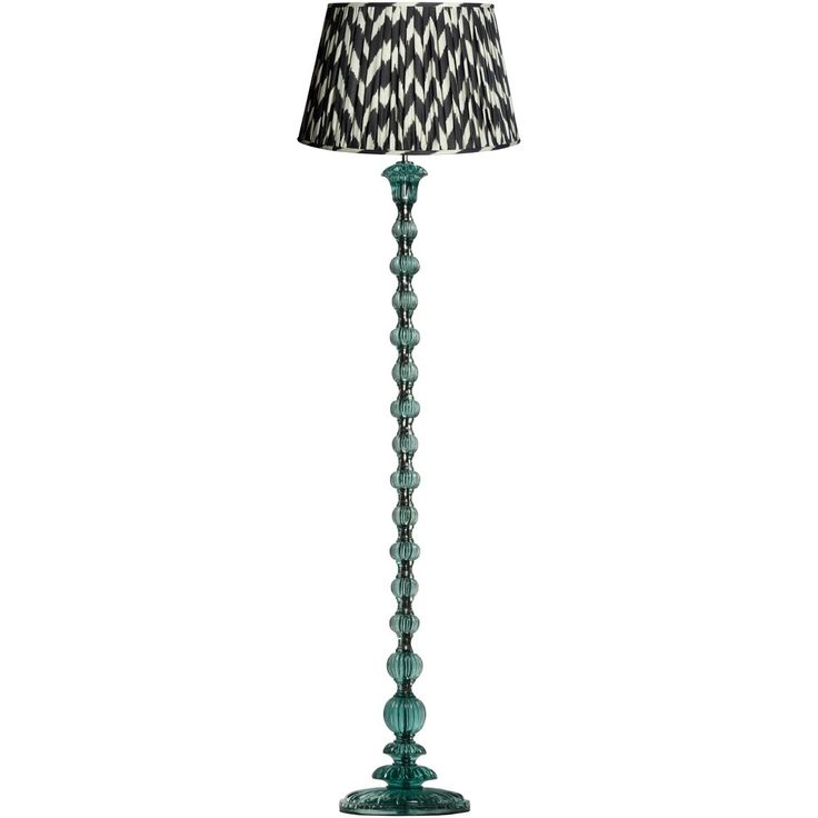 This resin floor lamp has a ceremonial elegance to it. Very grown up, with a cool aquamarine ripple